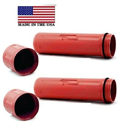 """Rod Guard® Stick Welding Electrode Storage Canister 14/"""" hold 10Ibs Red PK of 2"""
