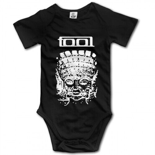tool band Black Logo infant Baby Boy Clothes One PIECE Bodysuit