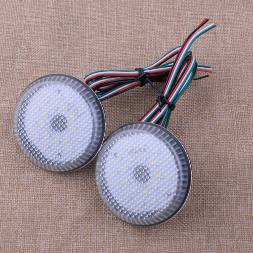 2x LED Rear Bumper Reflector Light Brake fit for Qashqai Dualis Sienna Corolla