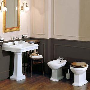 Sanitari tradizionali bagno classico wc copriwc bidet e - Sanitari bagno tradizionali ...