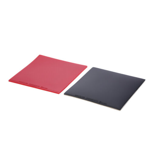 2X Inverted Rubber Sponge For Table Tennis Racket Ping Pong*Paddle Red//Black P0C