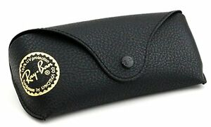 Ray-Ban-Eye-Glasses-Sunglasses-Black-Cover-Case-With-Cleaning-Cloth-1