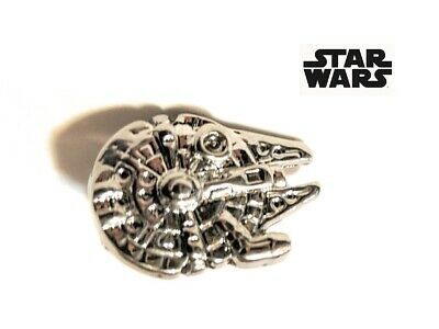 STAR WARS Darth Vader Millenium Falcon BB8 Rebel Alliance Metal Brooch Pin