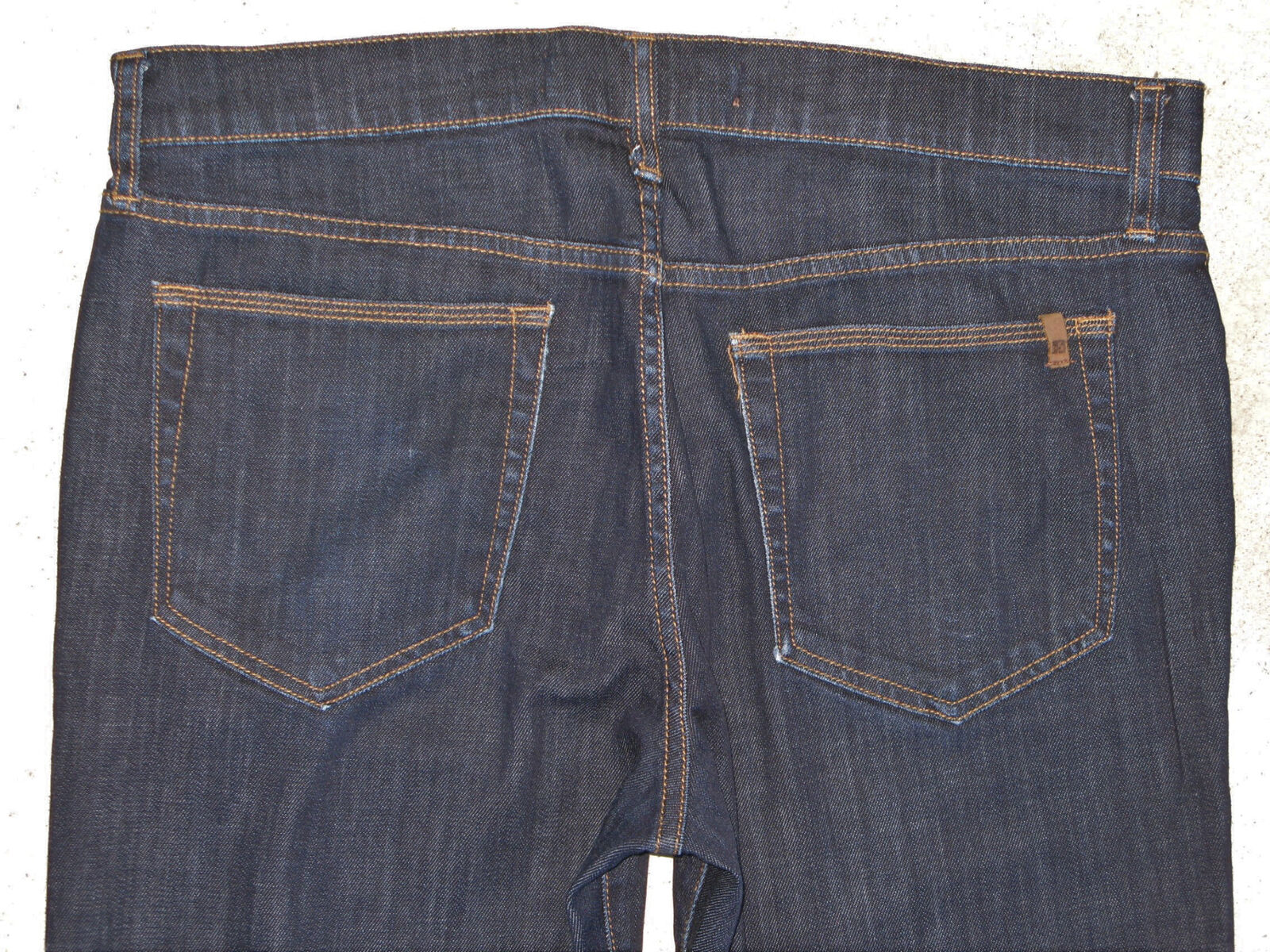 J0E's Mens Skinny Jeans Sz 34 x 35 XL w Stretch Dark bluee Wash