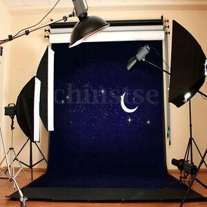 3x5Ft Sky Theme Background Photography Stars Night Backdrop Fr StudioProp Photo