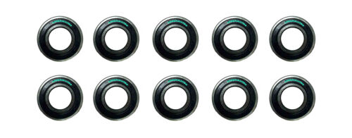 100 LOT 6205 2RS Ball Bearing 25x52x15 Dual Seal REPLACES 6205-2RS 62052RS Qty