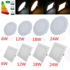 Dimmable Recessed LED Panel Light 6W 12W 15W 18W 24W Ceiling Down Lights AP