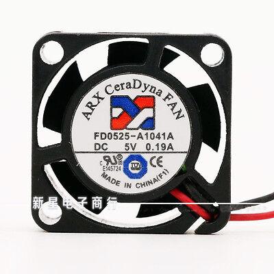 1PC ARX 4010 FD1240-S2312A DC12V 0.11A 4CM 2-wire silent cooling fan