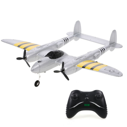 FX-816 P38 2.4G 2CH RC Airplane Aircraft Fixed Wing Outdoor EPP Plane Toy F5K7