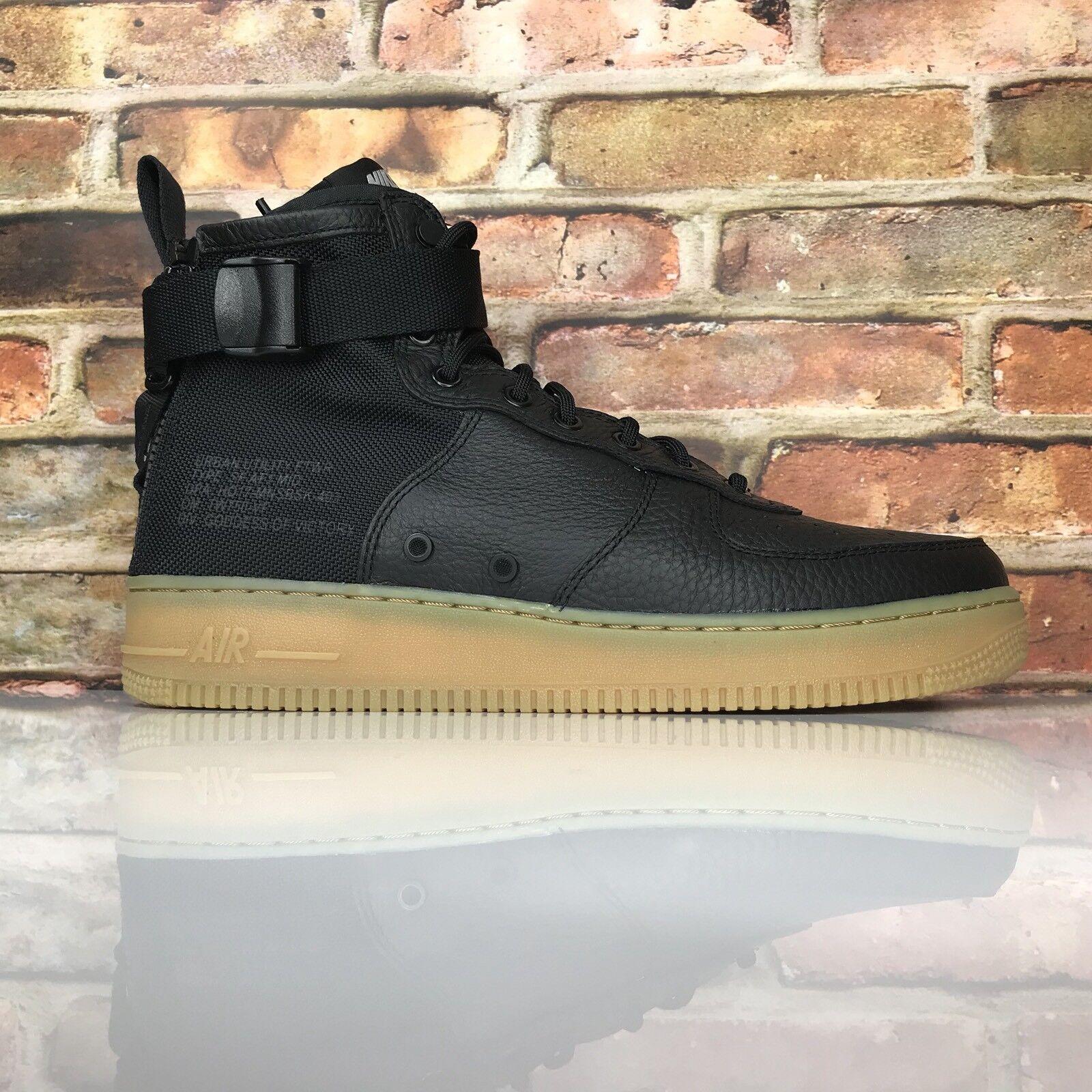 Nike sf af1 metà Uomo 43 di di di scarpe speciali field air force one chewingum nero 16e17d