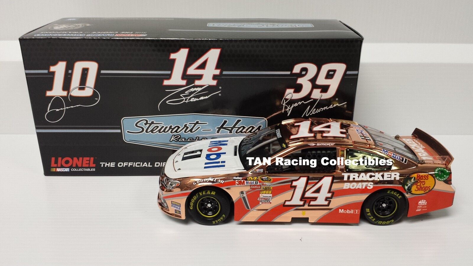Tony Stewart 2013 Lionel/Action #14 Mobil 1 COPPER 1/24 FREE SHIP