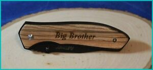 Personalized-Black-Liner-Lock-Knife-with-Zebra-Wood-Handles