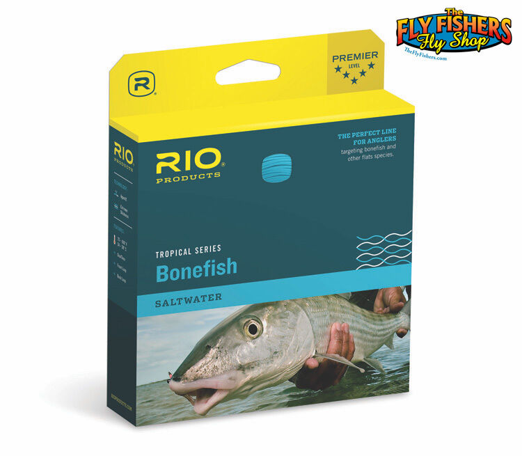 RIO Bonefish Tropical Floating Fly Line - WF9F 9wt - Sand bluee - FREE SHIPPING