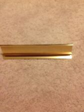 Desk Name Plate Holder, Colored Brass - Great Buy!