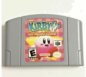 Kirby-64-The-Crystal-Shards-N64-repro-Game-cartridge-FreeShipUS-CyberSALE
