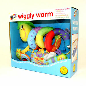 Wiggly-Worm-Baby-Buggy-Toy-Gift-for-Pushchair-Cot-Stroller-Spiral-Activity