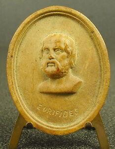 Medaille-XVIII-Euripide-Euripides-tragique-d-l-039-Athenes-classique-medal