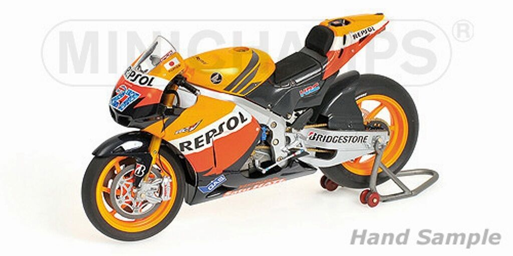 MINICHAMPS 122 111127 HONDA HONDA HONDA RC212V motor bike Casey Stoner MotoGP 2011 1 12th 7f5e16