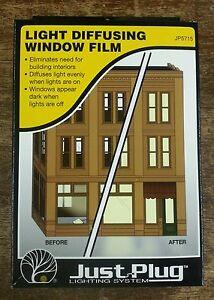woodland scenics just plug light diffusing window film jp5715 ebay. Black Bedroom Furniture Sets. Home Design Ideas