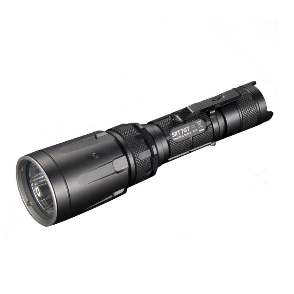Nitecore SRT7GT Cree XPL HI V3 Blau LED Tactical Weiß ROT Blau V3 Grün UV Flashlight e1a9cc