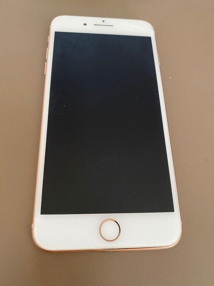 iPhone 8 Plus, 256 GB, guld