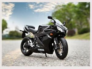 1-12-Scale-Yamaha-YZF-R1-Maisto-Model-Toys-Diecast-Motorcycle-Racing-Moto-Black