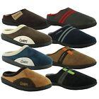 New Mens Coolers Clog Memory Foam Slip On Mule Slippers Shoes UK Sizes