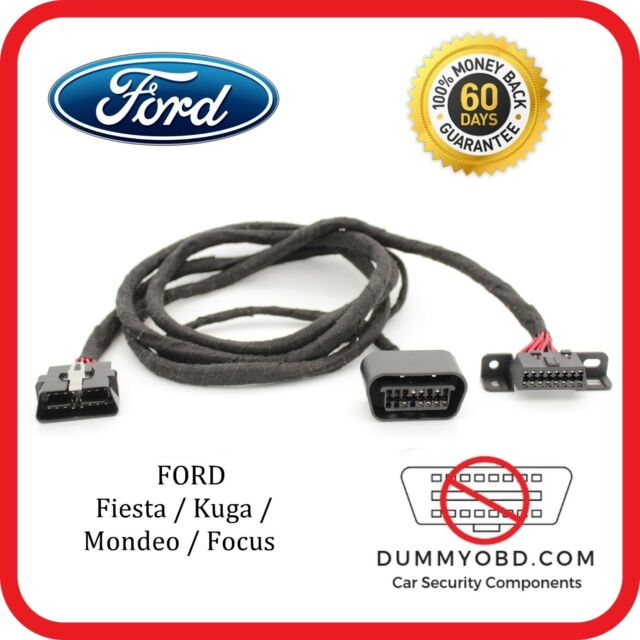 Ford Focus Mk2 St & RS Dummy OBD Port Relocation Extension Obd2 Diagnostic  Block