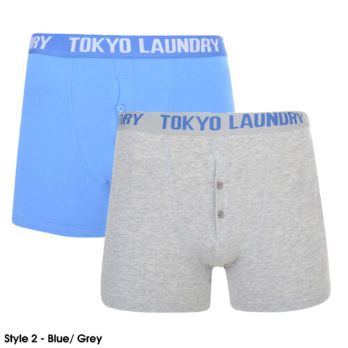 Tokyo Laundry Boxer Shorts Men/'s Underwear Cotton Stretchy 2 Pack