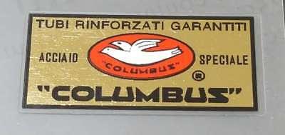 Black Border sku colu859 Columbus Foderi Laminati Fork Decals
