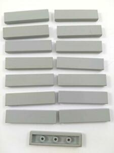 Lot 6 Plates Lego  Old  Light Gray 2x2 Corner PLATE
