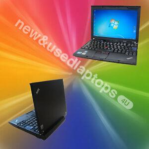 FAST-WINDOWS-7-LENOVO-X201-LAPTOP-Core-i5-2-4GHz-CHEAP-4GB-RAM-Warranty-WIRELESS