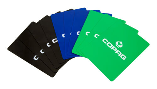 pack 10 Original Copag Corte Tarjetas 100/% Plástico Azul Verde Negro