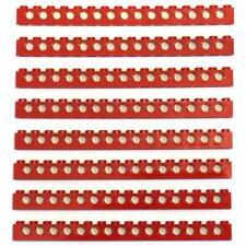 Technic LEGO Parts 3703 Brick 1x16 with Holes Black 1pc