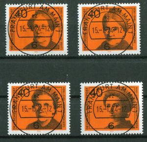 Bund-791-794-gestempelt-Vollstempel-Frankfurt-BRD-ETST-Ersttagsstempel-used