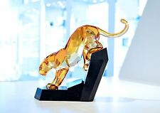 Swarovski Soulmates Numbered Limited Edition Panther Orange Signed 1096050 BNIB