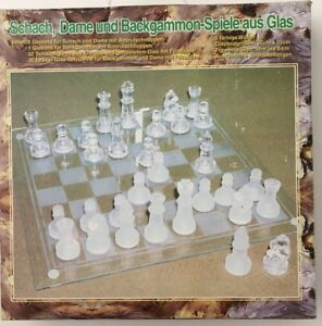68.p. 3 in 1 Glass Game Set - 12