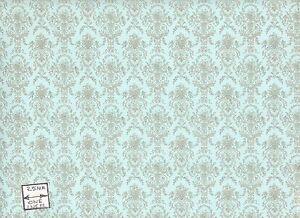 Marie Antoinette 96d2345 Miniature Dollhouse Wallpaper 1 12 Scale