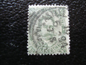 Italy-Stamp-Yvert-and-Tellier-N-42-Obl-A11-Stamp-Italy-O