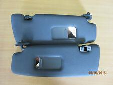 Mini Cooper R52 Cabrio Parasole sinistra e destra, nero, con specchio