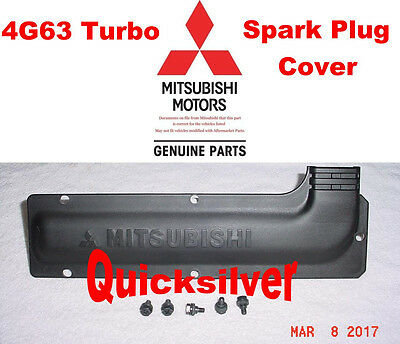 Spark Plug /& Wire COVER /& Bolts DOHC /& Turbo 1989-1999 Eclipse Galant Mirage