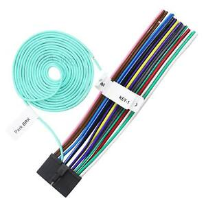 Details about 20 Pin Power Plug Wire Harness For Jensen CD450K CD450X on jensen power harness, jensen wiring adapter, touch screen receiver bv9965 wire harness, jensen remote control, jensen radio harness, jensen speaker,