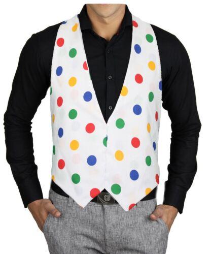 Children in Need Polka Dot Pudsey Spot Waistcoat Childs Age 8-12 Fancy Dress CIN