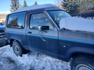 1984 Ford bronco II  PROJECT RIG