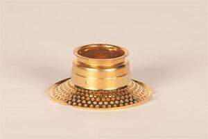 Aladdin Kerosene Mantle Lamp Outer Wick Tube for Model 23 Burner, brass #N238B