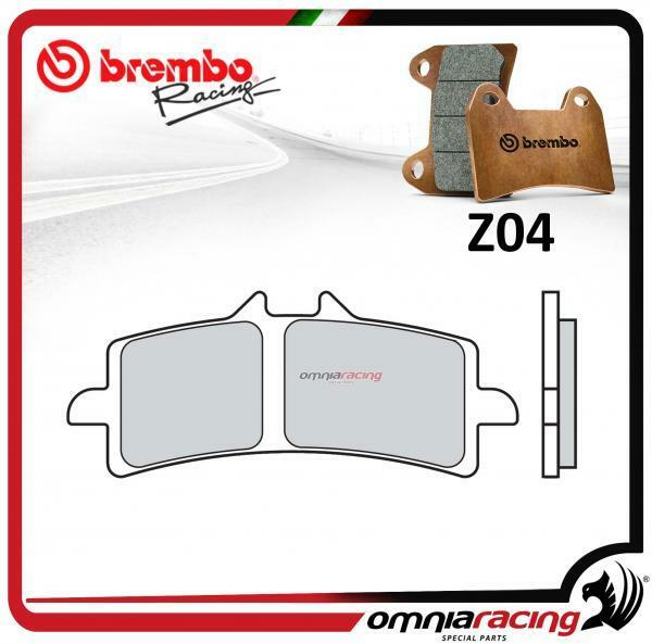 Brembo Racing Z04 pastillas freno frente sinterizado DUCATI 1098/S 2007>