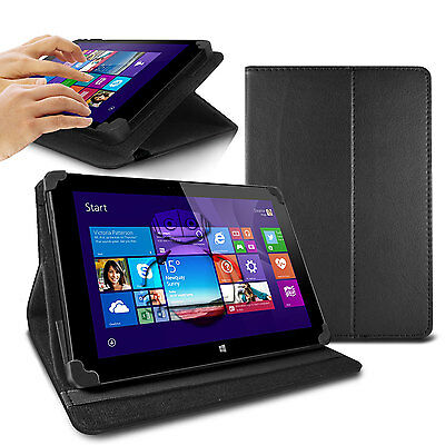 LUXFOLIO STAND LEATHER CASE WALLET FOR LINX 7 8 10 INCH TABLET