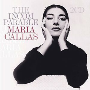 Incomparable-2-DISC-SET-Maria-Callas-2018-CD-NEUF