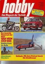 hobby 22/76 Van Veen OCR 1000 für DM 24.000!/Alfasud Sprint 1300/ vom 20.10.1976