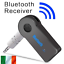 Bluetooth-Receiver-Adapter-3-5mm-Jack-Car-Home-Music-Audio-Aux-Stereo-Receiver thumbnail 1